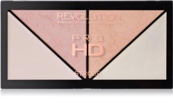 Makeup Revolution Pro HD Strobe Revolution палетка хайлайтерів