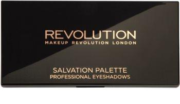 Makeup Revolution Hard Day paleta očných tieňov
