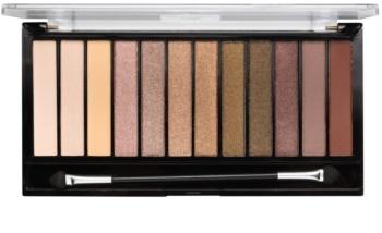 Makeup Revolution Iconic Dreams paleta očních stínů s aplikátorem