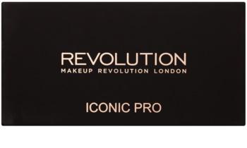 Makeup Revolution Iconic Pro 1 палітра тіней з дзеркальцем та аплікатором