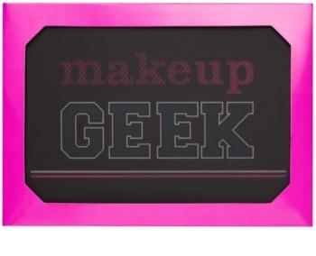 Makeup Revolution I ♥ Makeup Makeup Geek paleta očních stínů se zrcátkem a aplikátorem