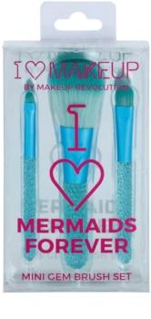 Makeup Revolution I ♥ Makeup Mermaids Forever set de mini-pensule
