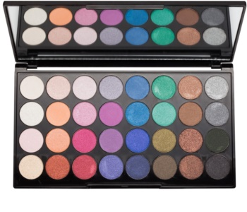 Makeup Revolution Mermaids Forever paleta očních stínů se zrcátkem