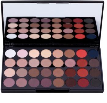 Makeup Revolution Flawless Matte 2 paleta očních stínů se zrcátkem