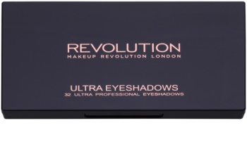 Makeup Revolution Flawless Matte 2 paleta senčil za oči z ogledalom
