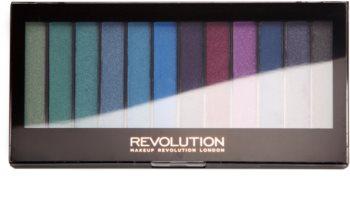 Makeup Revolution Mermaids Vs Unicorns paletka očných tieňov