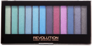Makeup Revolution Mermaids Vs Unicorns paleta očních stínů