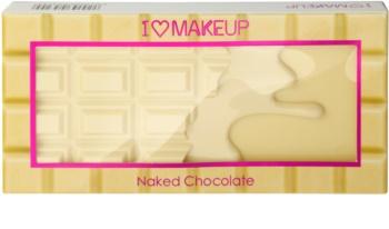 Makeup Revolution I ♥ Makeup Naked Chocolate paleta miraculoasa de farduri de ochi
