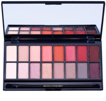 Makeup Revolution New-Trals vs Neutrals palette de fards à paupières avec miroir et applicateur