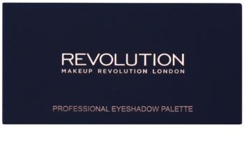 Makeup Revolution New-Trals vs Neutrals paletka očných tieňov so zrkadielkom a aplikátorom