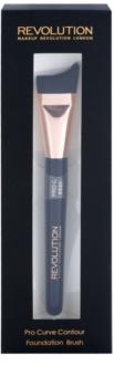 Makeup Revolution Pro Curve контуруючий пензлик