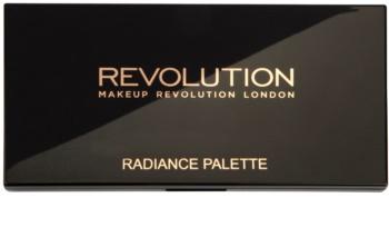 Makeup Revolution Radiance paleta de pós iluminadores