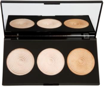 Makeup Revolution Radiance élénkítő púderek palettája