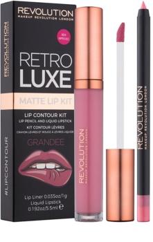 Makeup Revolution Retro Luxe kit lèvres mat