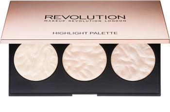 Makeup Revolution Rose Lights paleta luminoasa