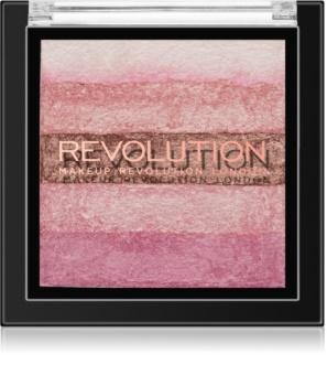 Makeup Revolution Shimmer Brick bronzer et enlumineur 2 en 1