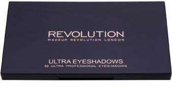 Makeup Revolution Flawless 2 paleta farduri de ochi cu oglinda mica