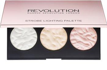 Makeup Revolution Strobe Lighting paleta highlightera
