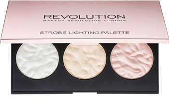 Makeup Revolution Strobe Lighting paleta rozjasňovačů