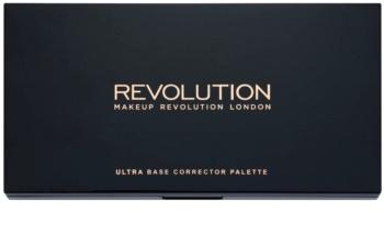 Makeup Revolution Ultra Base paleta korektorov