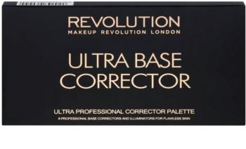 Makeup Revolution Ultra Base paleta de corretores