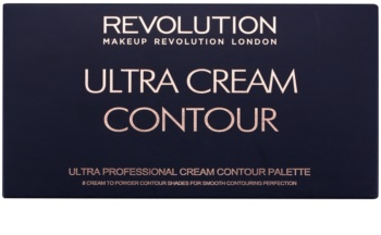 Makeup Revolution Ultra Cream Contour arckontúr paletta