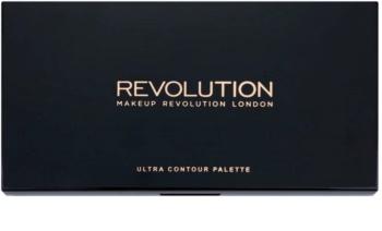 Makeup Revolution Ultra Contour paleta na kontúry tváre
