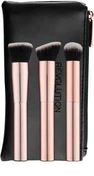 Makeup Revolution Ultra Metals Go perie călătorie de conturare