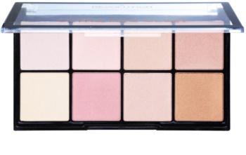 Makeup Revolution Ultra Pro Glow paleta luminoasa