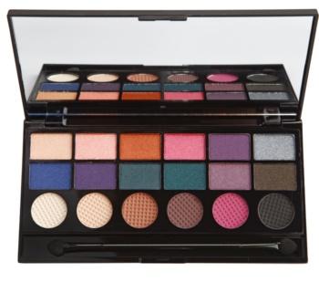 Makeup Revolution Unicorns Unite paletka očných tieňov