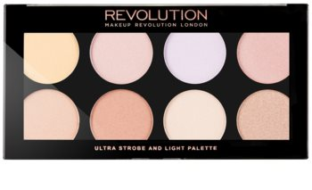 Makeup Revolution Ultra Strobe and Light paleta cu crema iluminatoare