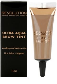 Makeup Revolution Ultra Aqua vopsea de sprancene