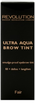 Makeup Revolution Ultra Aqua tónovací barva na obočí