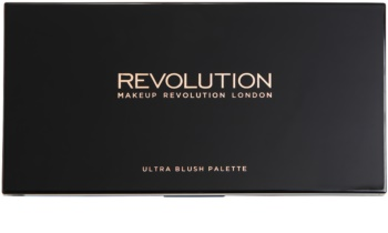 Makeup Revolution Ultra Blush paleta fard de obraz