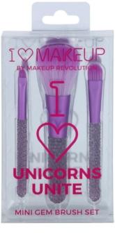Makeup Revolution I ♥ Makeup Unicorns Unite Set mit kleinen Pinseln
