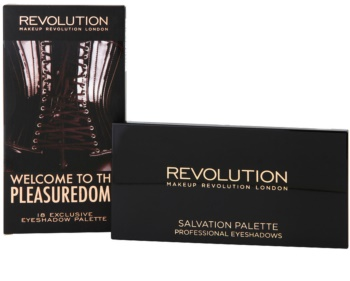 Makeup Revolution Welcome To The Pleasuredome paleta očných tieňov