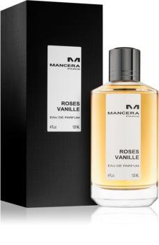 Mancera Roses Vanille Eau de Parfum für Damen 120 ml