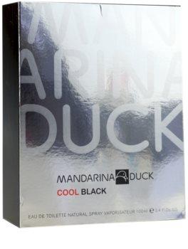 Mandarina Duck Cool Black Eau de Toilette für Herren 100 ml