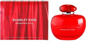 mandarina duck scarlet rain
