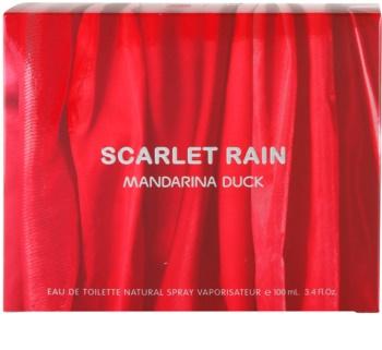 Mandarina Duck Scarlet Rain eau de toilette nőknek 100 ml
