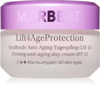 Marbert Anti-Aging Care Lift4AgeProtection zpevňující denní krém proti vráskám SPF 15