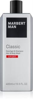 Marbert Man Classic Sport Duschgel für Herren 400 ml