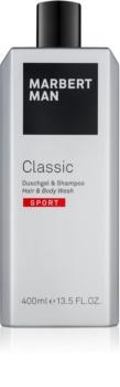 Marbert Man Classic Sport Shower Gel for Men 400 ml