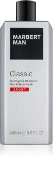 Marbert Man Classic Sport sprchový gél pre mužov 400 ml