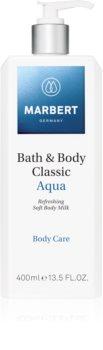 Marbert Bath & Body Classic Aqua Refreshing Body Lotion with Moisturizing Effect