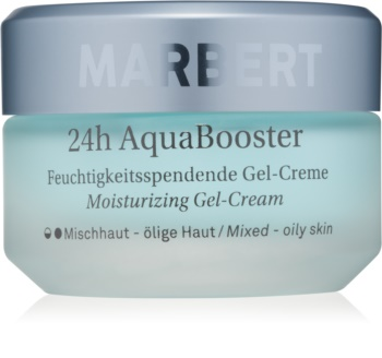 Marbert Moisture Care 24h AquaBooster crema hidratante con textura de gel para pieles grasas y mixtas