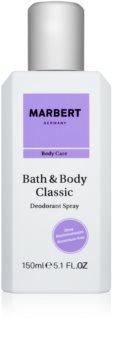 Marbert Bath & Body Classic Deo-Spray für Damen 150 ml