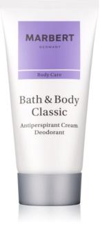 Marbert Bath & Body Classic desodorante en crema para mujer 50 ml