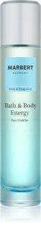 Marbert Bath & Body Energy água refrescante para mulheres 100 ml