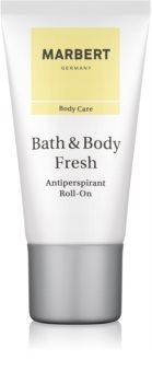 Marbert Bath & Body Fresh deodorant roll-on pentru femei 50 ml